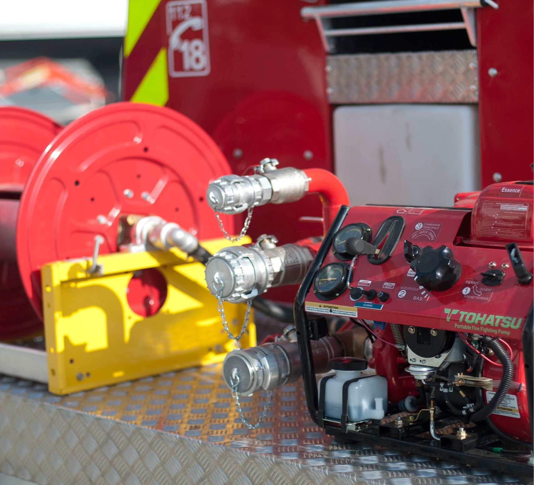 Pompier - épuisement - incendie